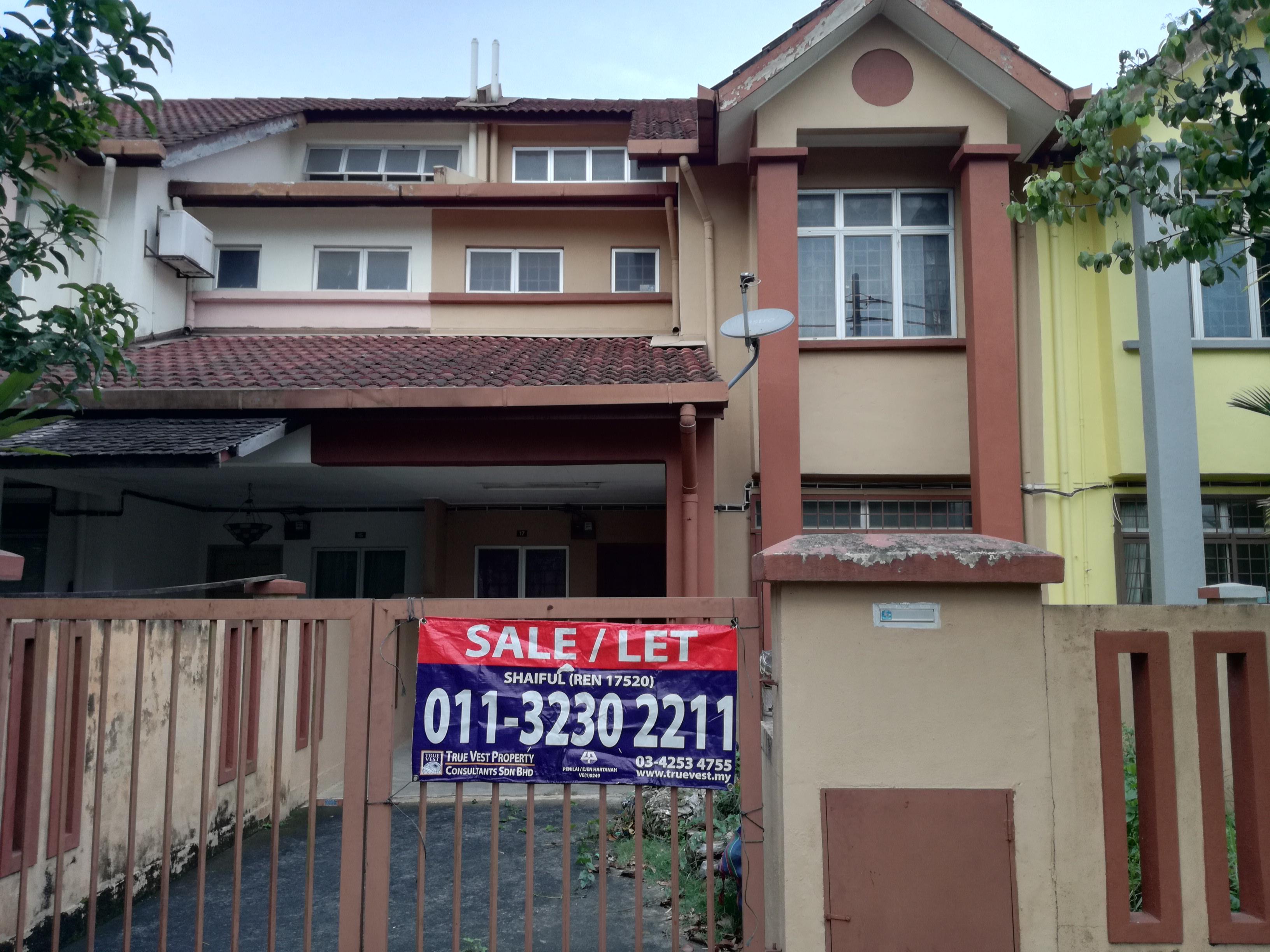 2 Storey House, Taman Tun Perak, Rawang Selangor